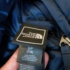The Northface Boys7/8 coat excellent